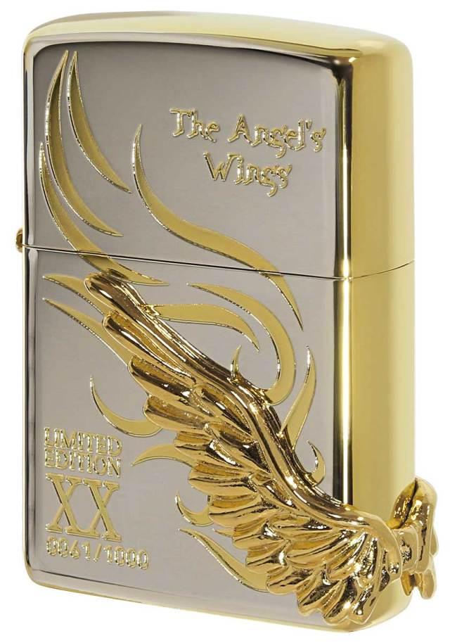 Zippo ジッポー 限定1,000個 ANGEL'S WINGS エンジェルウイングス SGミラー PAW-120SPG