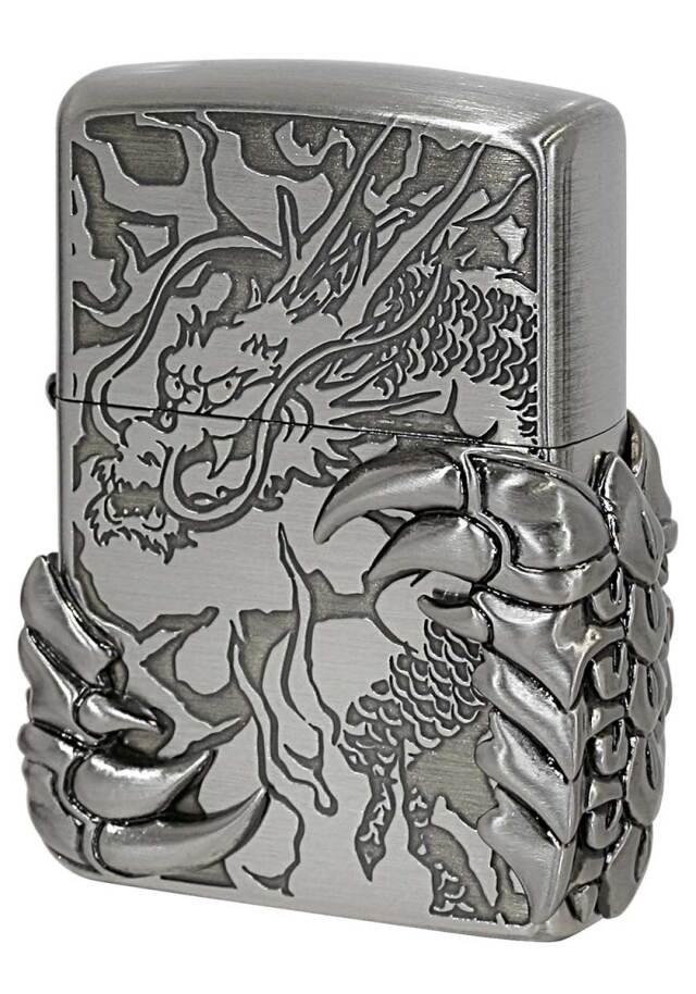 Zippo ジッポー ドラゴンメタル Dragon Metal DTX-M2-NI