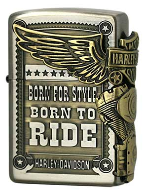 Zippo ジッポー Harley Davidson HDP-27