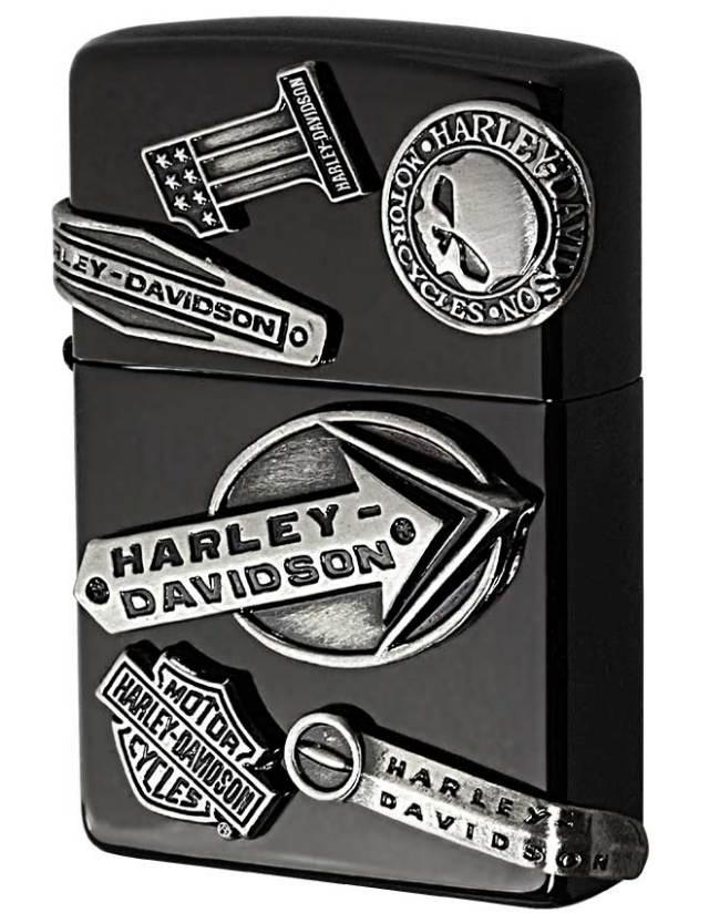 Zippo ジッポー 日本限定Zippo Harley Davidson ハーレーダビッドソン メイクメタル HDP-62