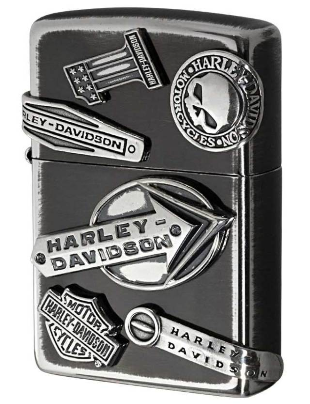 Zippo ジッポー 日本限定Zippo Harley Davidson ハーレーダビッドソン メイクメタル HDP-63