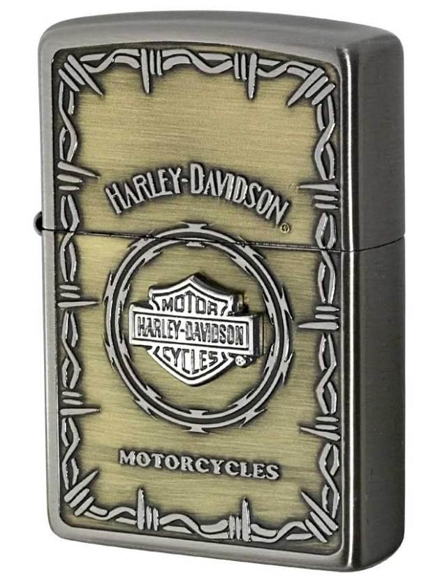 Zippo ジッポー 日本限定Zippo Harley Davidson ハーレーダビッドソン Sメタル バー&シールド HDP-67