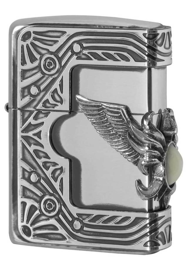 Zippo ジッポー Shell Wing Metal シェル ウィングメタル 1