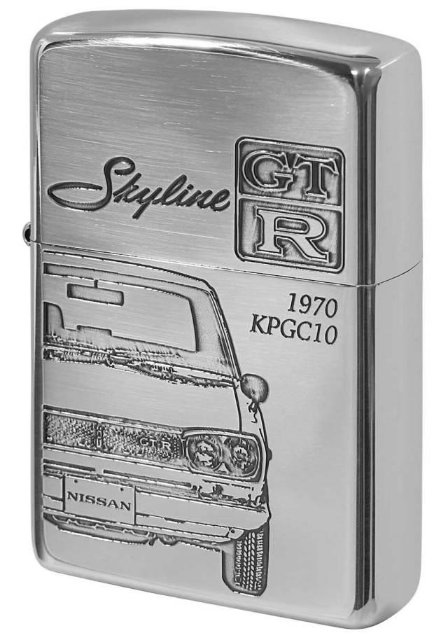 Zippo ジッポー 日産 NISSAN スカイライン SKYLINE GT-R KPGC10 メール便可