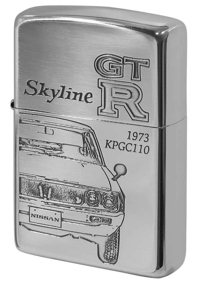 Zippo ジッポー 日産 NISSAN スカイライン SKYLINE GT-R KPGC110 メール便可