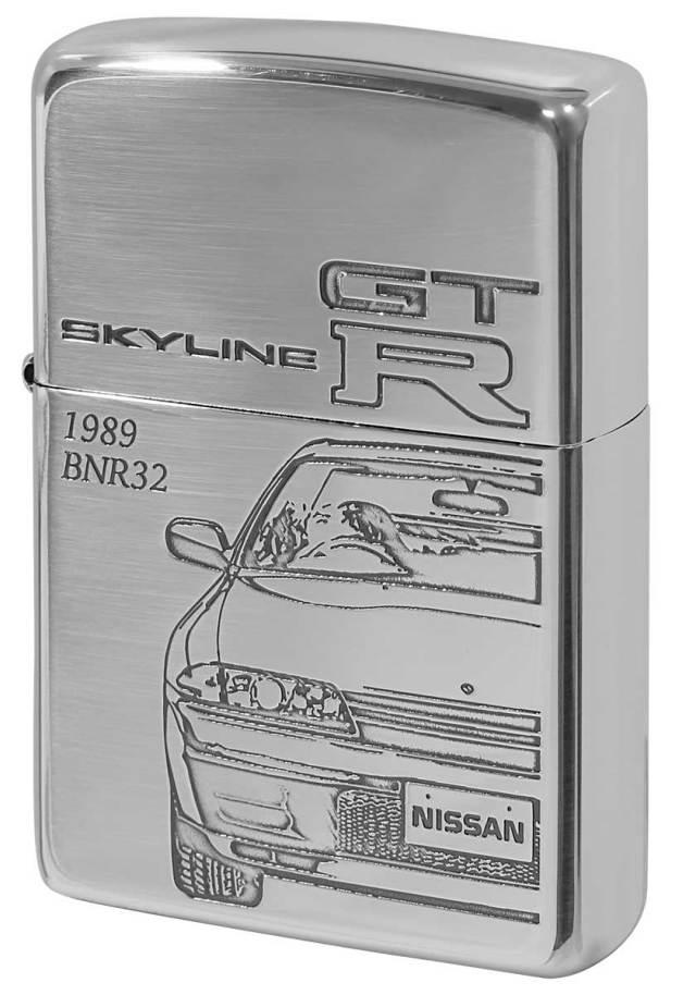 Zippo ジッポー 日産 NISSAN スカイライン SKYLINE GT-R BNR32 メール便可