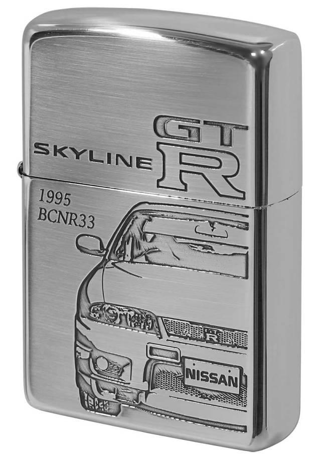 Zippo ジッポー 日産 NISSAN スカイライン SKYLINE GT-R BCNR33 メール便可