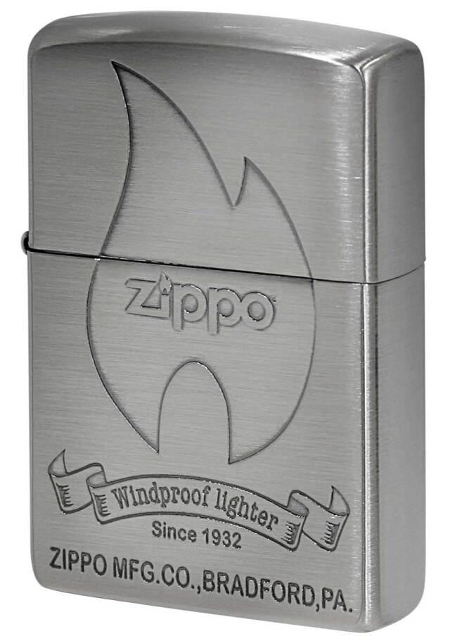 Zippo ジッポー Classical Design クラシカル フレイムデザイン Ni メール便可
