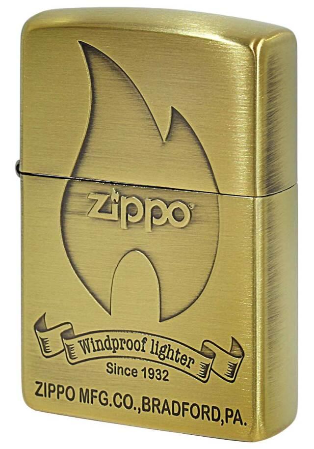 Zippo ジッポー Classical Design クラシカル フレイムデザイン BS メール便可
