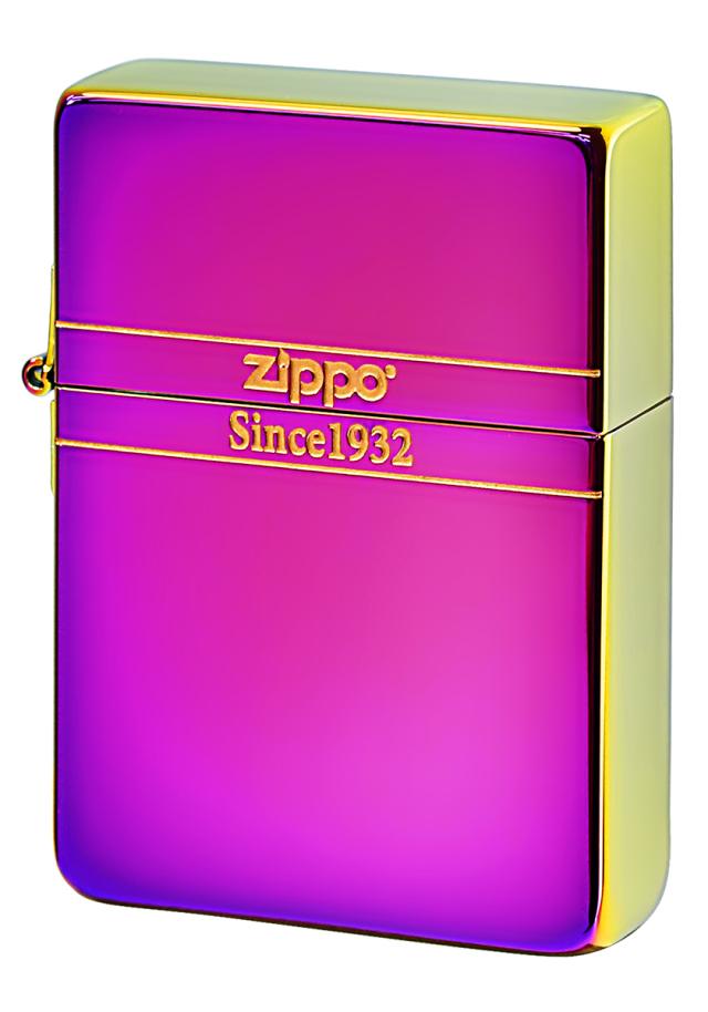Zippo ジッポー 1935REPLICA TITANIUM COATING 1935ベーシック レインボーチタン
