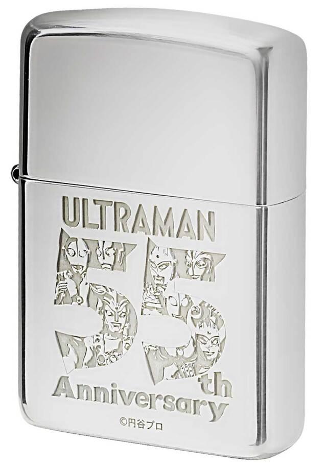 Zippo ジッポー ULTRAMAN 55th Anniversary ウルトラマン 55周年記念 スターリングシルバー 純銀