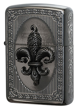 Zippo ジッポー French Antique Metal FMA-B