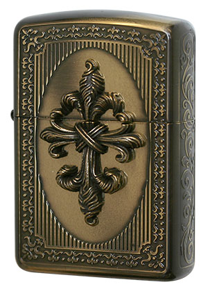 Zippo ジッポー French Antique Metal FMA-C