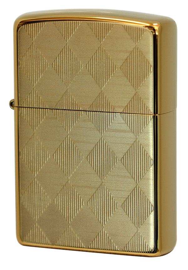 Zippo ジッポー Titanium Coating Series ARGYLE Ti-G-A(C) メール便可