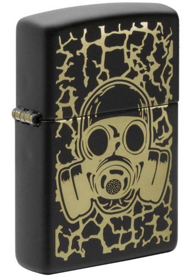 Zippo ジッポー PRICE FIGHTER 2021 Skull Gas Mask Design 49574 メール便可