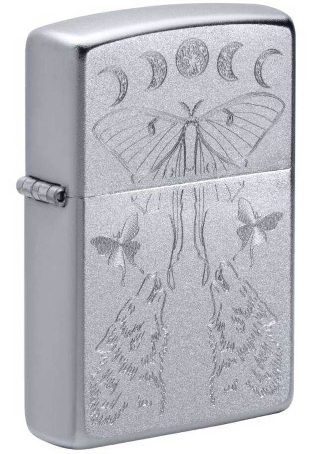 Zippo ジッポー PRICE FIGHTER 2021 Butterfly & Wolf Design 49591 メール便可