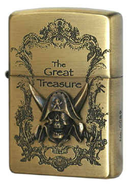 Zippo ジッポー The Great Treasure 2ZT-GT/BA