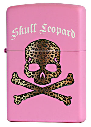 Zippo ジッポー Skull Leopard PK メール便可