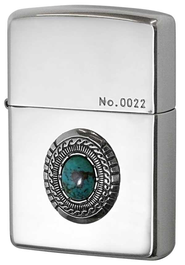 Zippo ジッポー Turquoise Metal ターコイズメタル SVイブシ メール便可