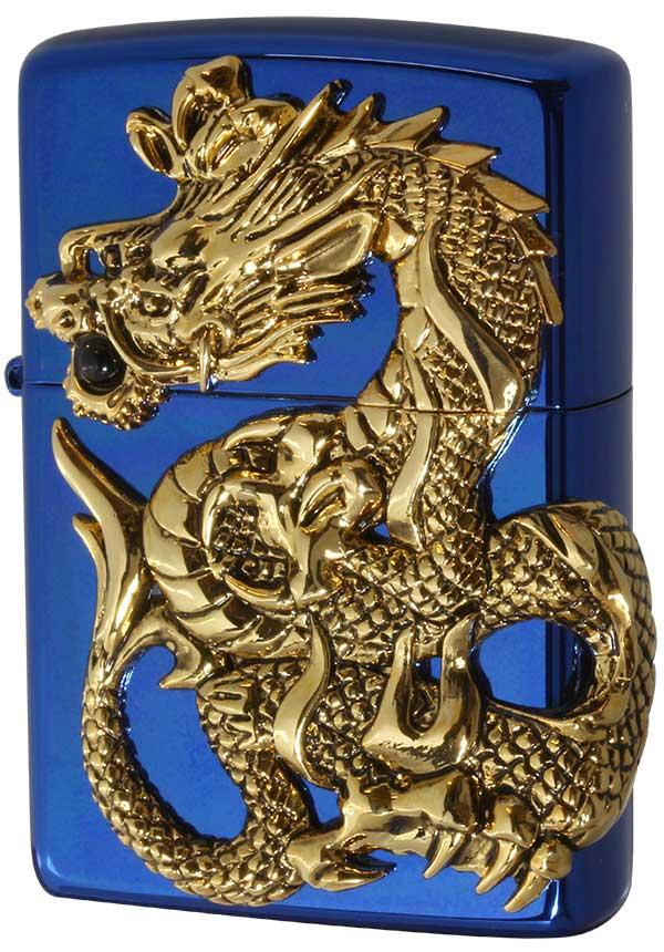 Zippo ジッポー 限定1,000個生産 DRAGON METAL ドラゴンメタル BLUE
