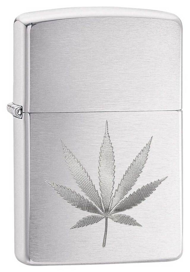 Zippo ジッポー Counter Culture Marijuana Leaf 29587 メール便可