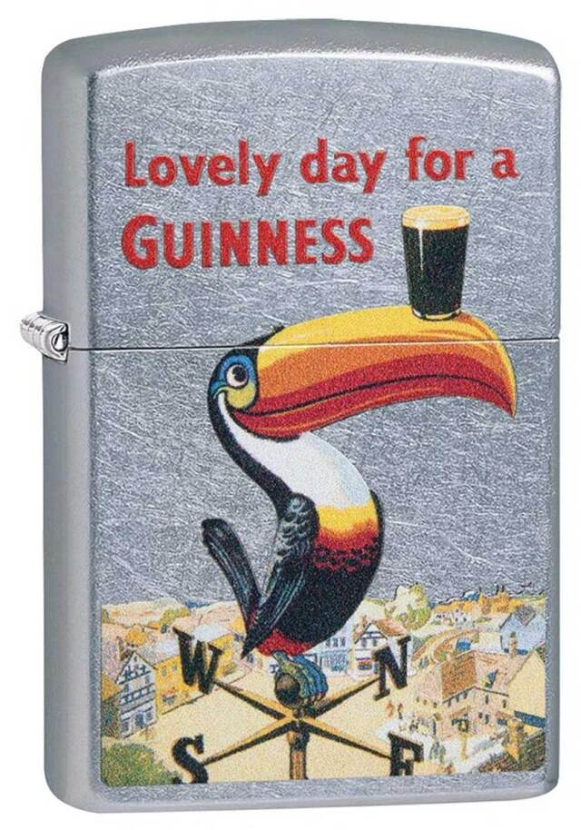 Zippo ジッポー Guinness Vintage Toucan 49093 メール便可