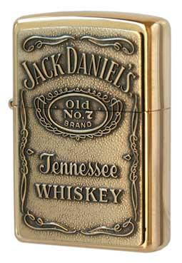 Zippo ジッポー Jack Daniel's Label Brass 254BJD.428 メール便可