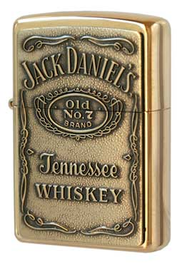 Zippo ジッポー Jack Daniel's Label Brass 254BJD.428 メール便可