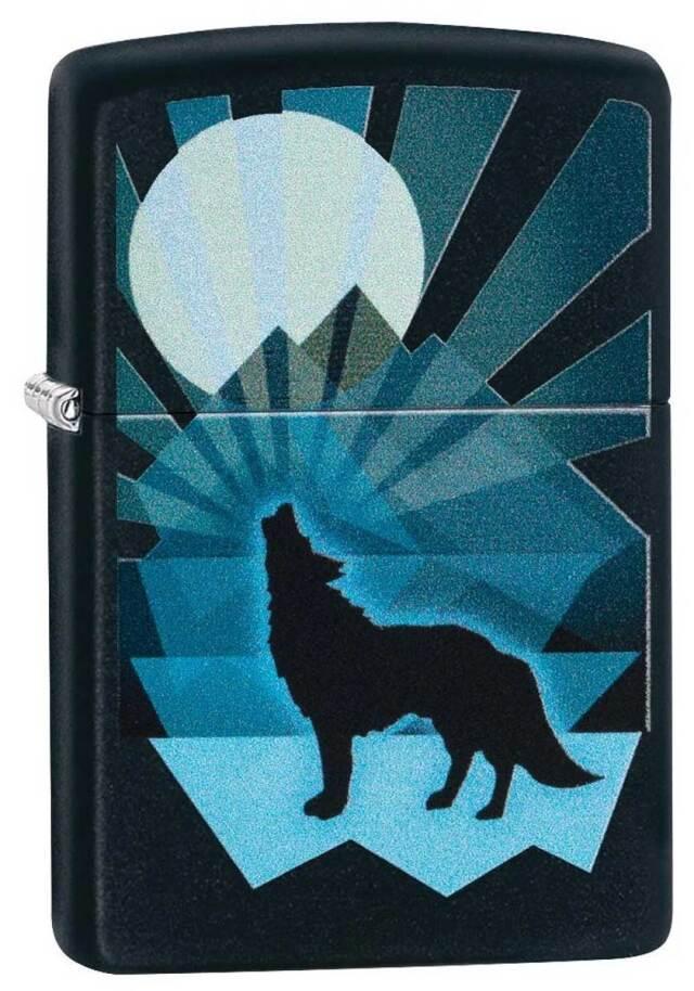 Zippo ジッポー Wolf and Moon 29864 メール便可
