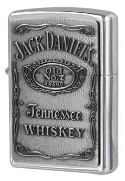 Zippo ジッポー Jack Daniel's Label Pewter 250JD.427 メール便可
