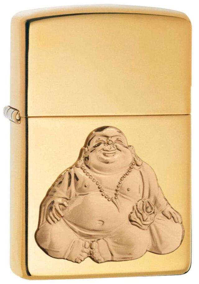 Zippo ジッポー Laughing Buddha 29626 メール便可