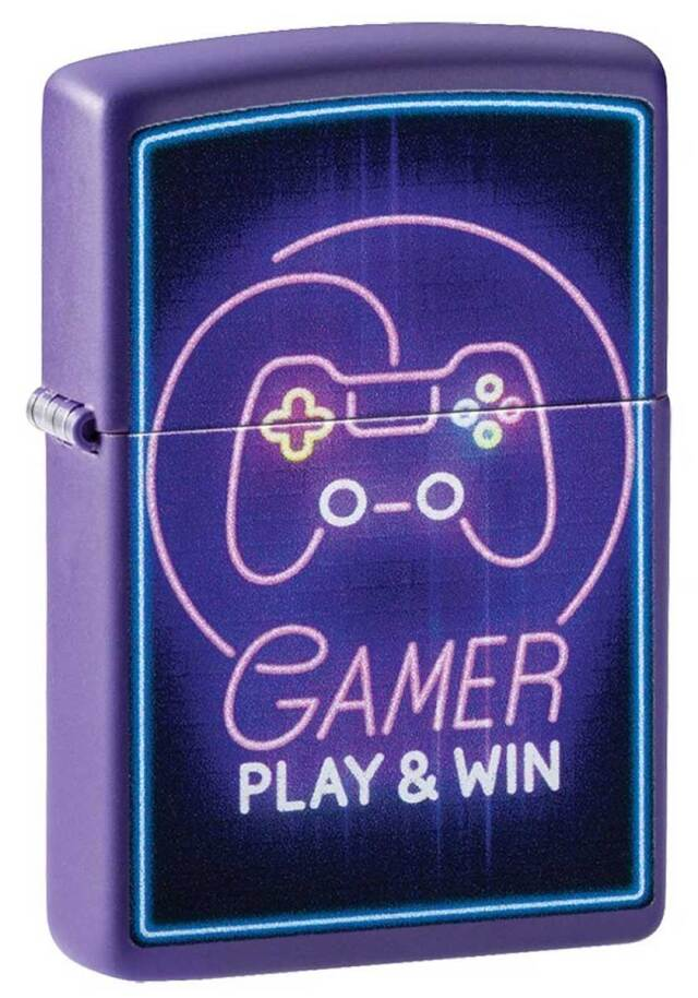 Zippo ジッポー Gamers Play To Win 49157 メール便可