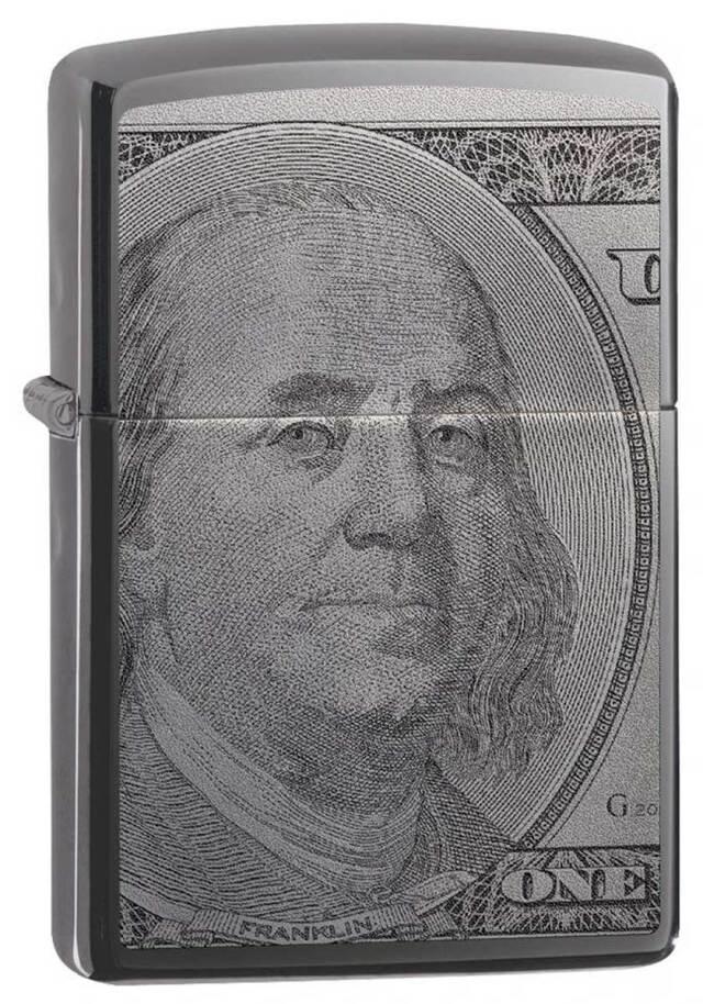 Zippo ジッポー Currency 100 Dollar 49025 メール便可