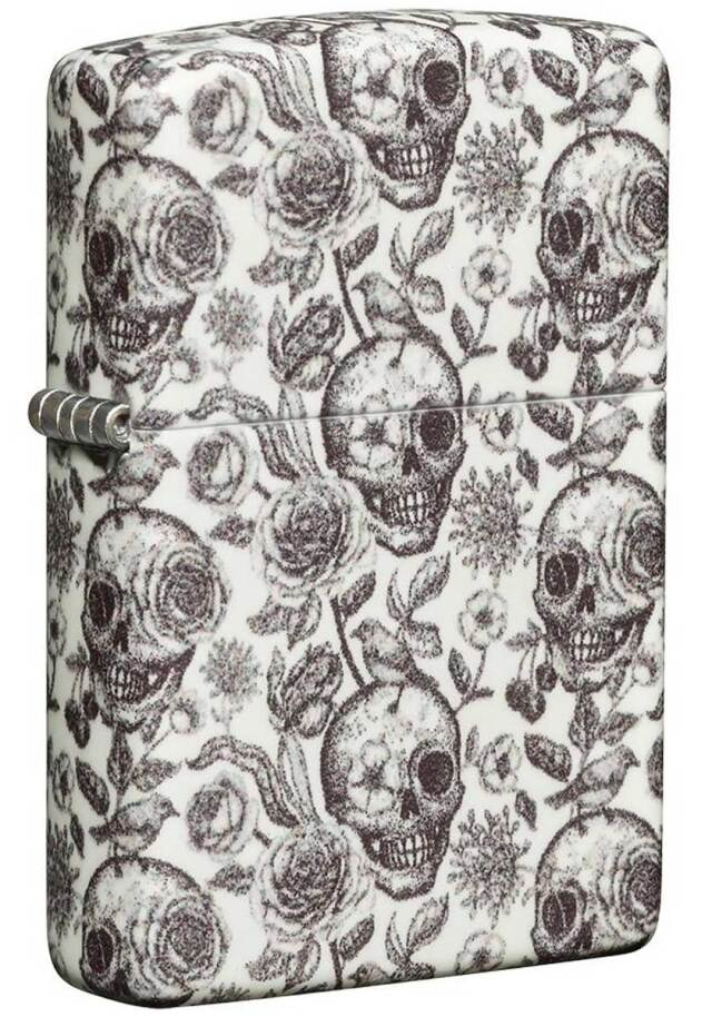Zippo ジッポー Skeleton Design 49458 メール便可
