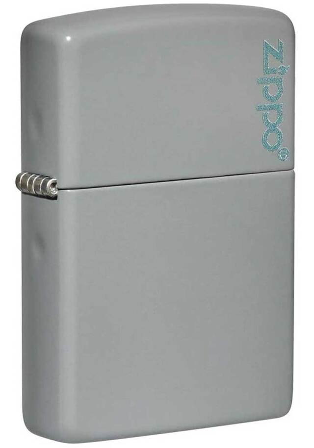 Zippo ジッポー Flat Grey w Zippo  49452ZL メール便可