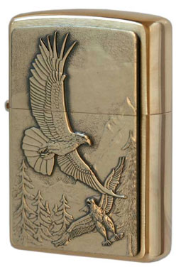 Zippo ジッポー Where Eagles Dare Emblem 20854 メール便可