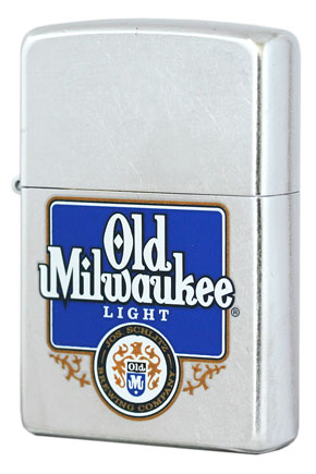 Zippo ジッポー Pabst Brewing 24289 Pabst Brewing Old Milwaukee Light