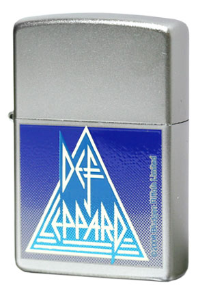 Zippo ジッポー Rock Express 24566 Def Leppard Satin Chrome
