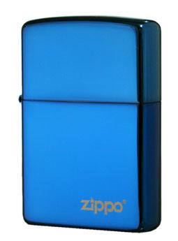 Zippo ジッポー サファイア 20446ZL メール便可
