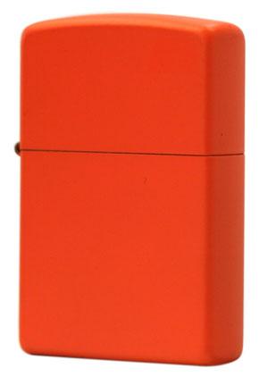 Zippo ジッポー OrangeMatte 231 メール便可