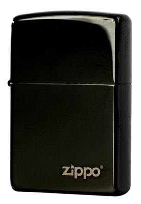 Zippo ジッポー EBONY W ZIPPO 24756ZL メール便可