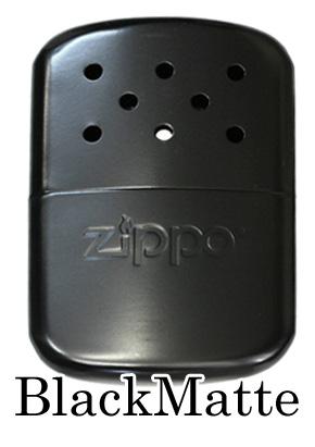 Zippo ジッポー HandWarmer Black Matte 40334