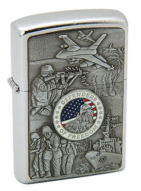 Zippo ジッポー JOINED FORCES 24457
