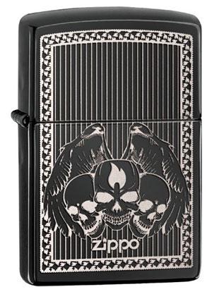 Zippo ジッポー Zippo Skulls 28678