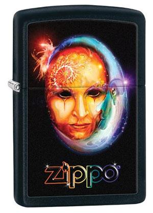 Zippo ジッポー Venetian Mask 28669 メール便可