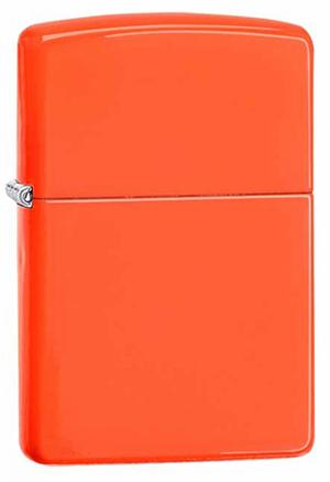 Zippo ジッポー Neon Orange 28888 メール便可