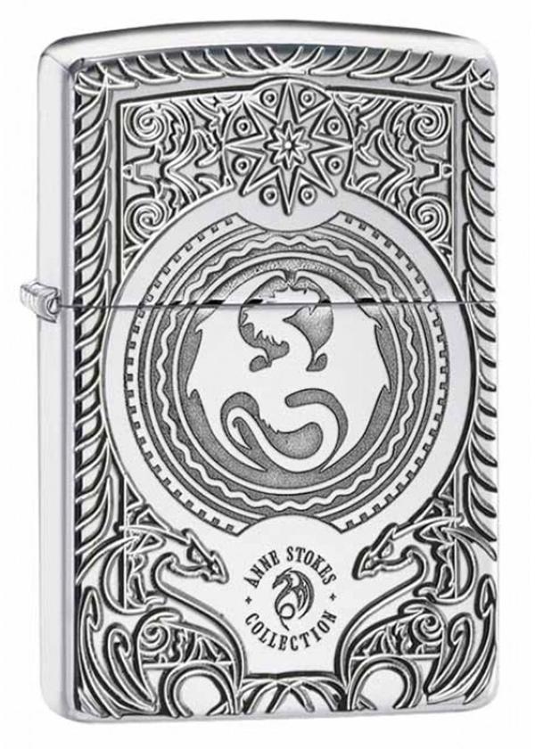 Zippo ジッポー Anne Stokes Dragon Design 28962 メール便可