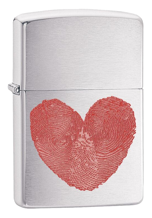 Zippo ジッポー Heart Thumbprint 29068 メール便可