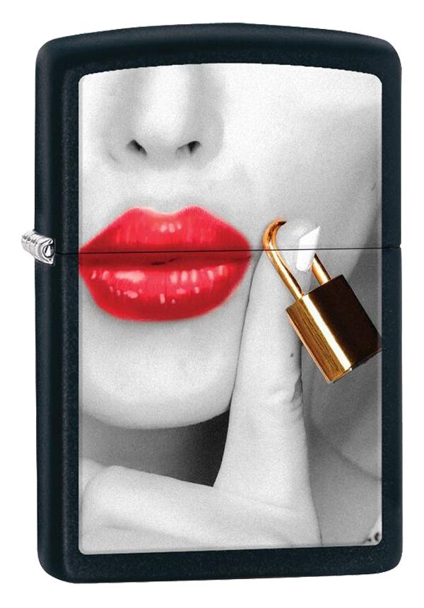 Zippo ジッポー Lips Locked 29089
