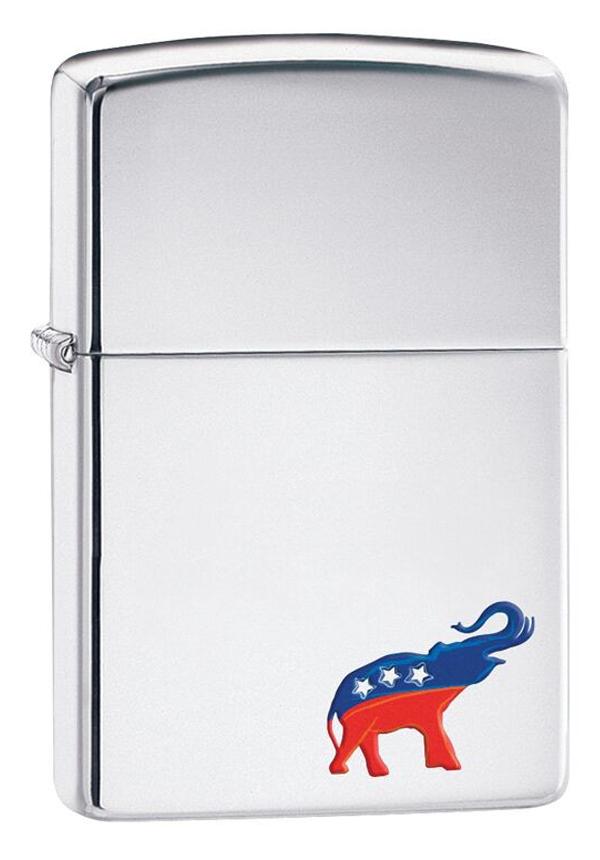 Zippo ジッポー Republican Elephant 29072 メール便可